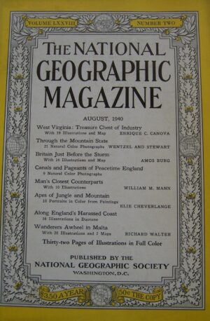 National Geographic August 1940-0
