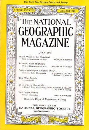 National Geographic July 1945-0