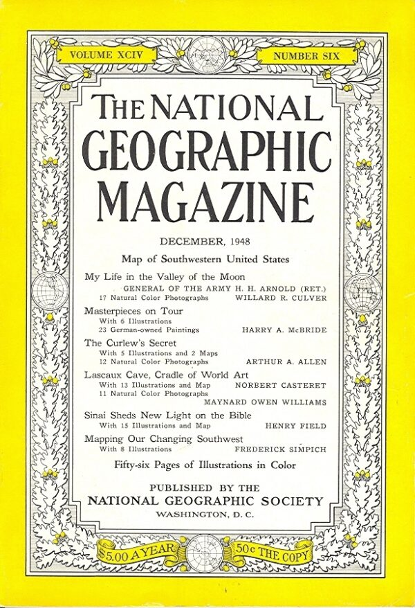 National Geographic December 1948-0