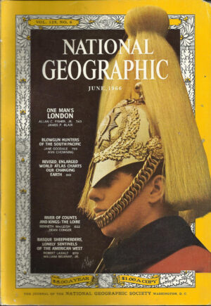 National Geographic June 1966-0