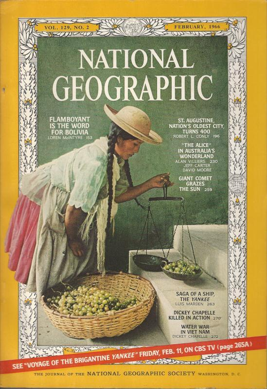 National Geographic February 1966-0
