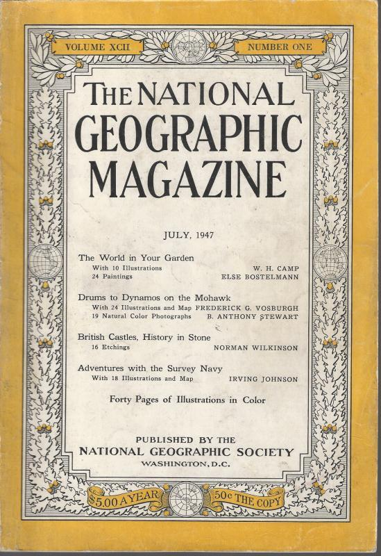 National Geographic July 1947-0
