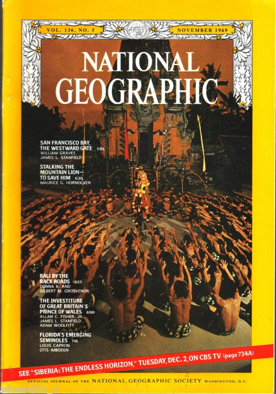 National Geographic November 1969-0
