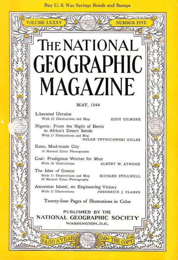 National Geographic May 1944-0
