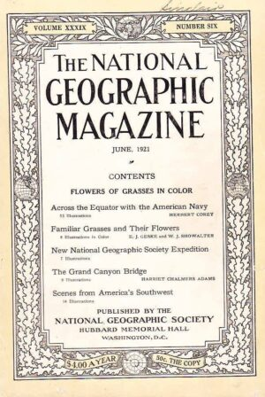 National Geographic June 1921-0