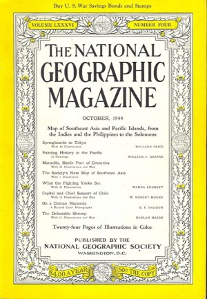 National Geographic October 1944-0