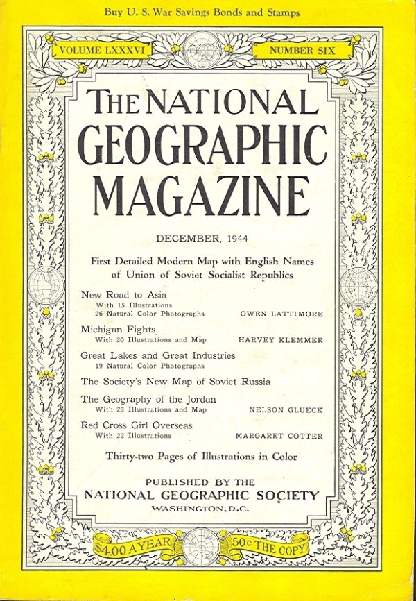 National Geographic December 1944-0