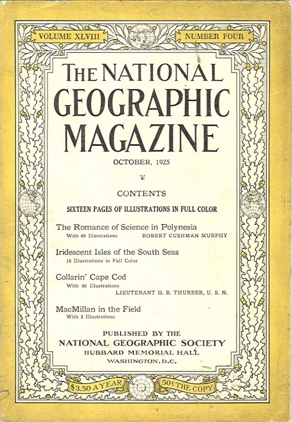 National Geographic October 1925-0