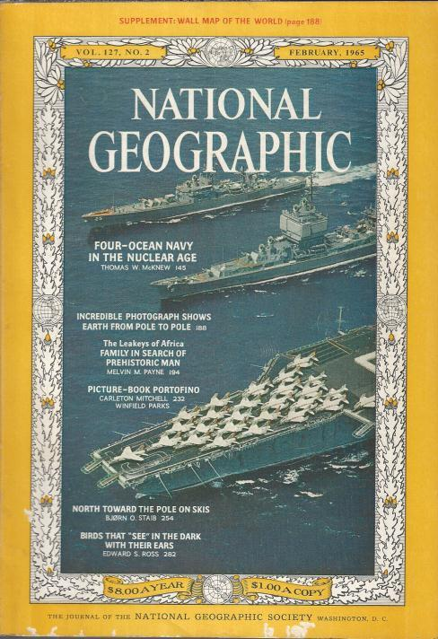 National Geographic February 1965-0