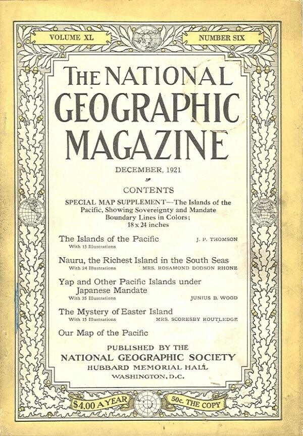 National Geographic December 1921-0