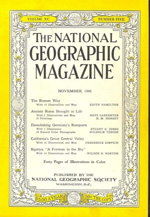 National Geographic November 1946-0