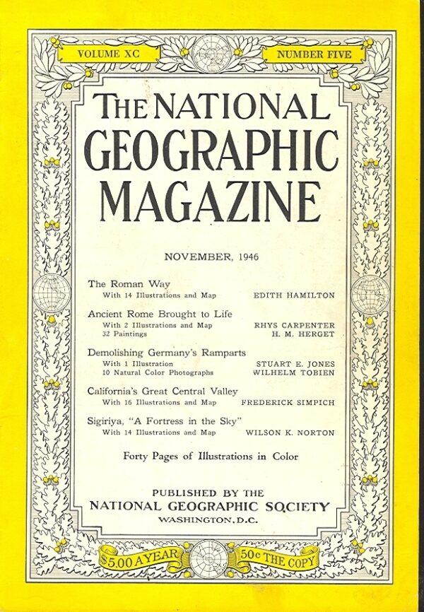 National Geographic November 1946-0