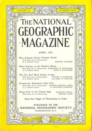 National Geographic April 1952-0
