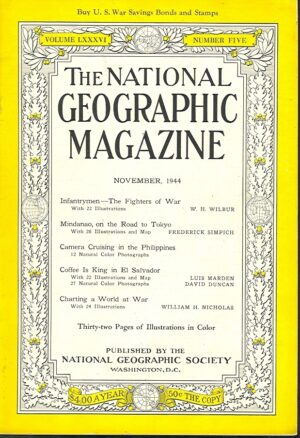 National Geographic November 1944-0