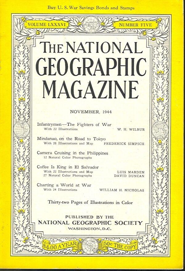 National Geographic November 1944-0