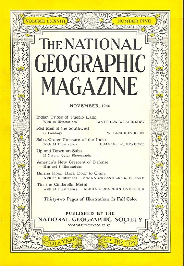 National Geographic November 1940-0