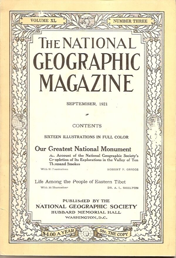 National Geographic September 1921-0