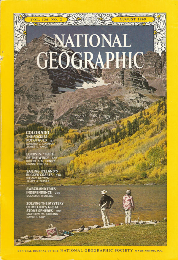 National Geographic August 1969-0