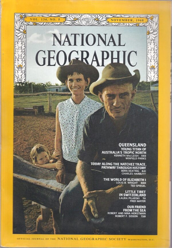 National Geographic November 1968-0
