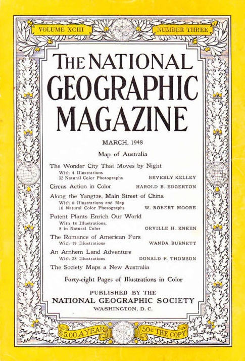National Geographic March 1948-0