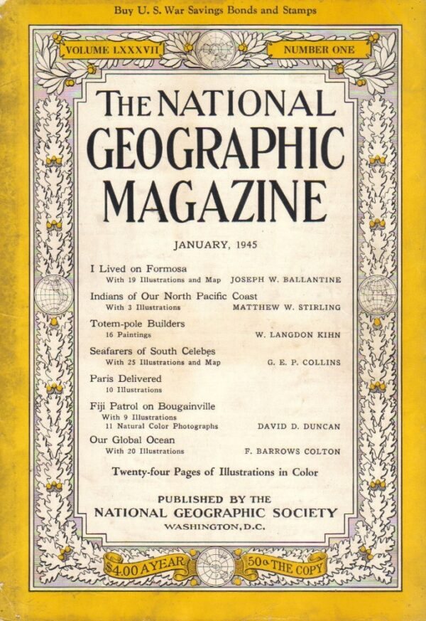 National Geographic January 1945-0