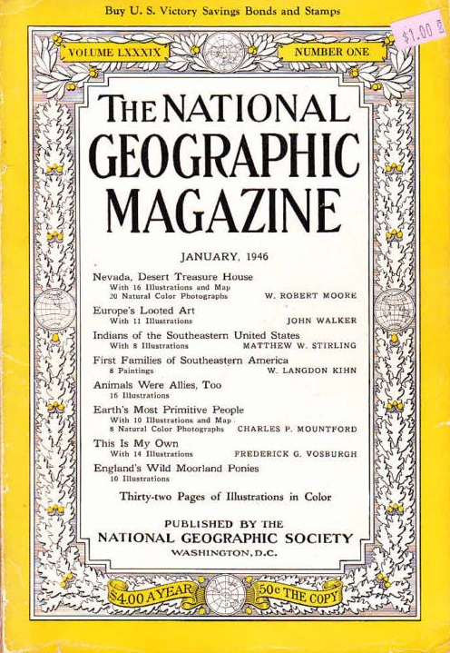 National Geographic January 1946-0