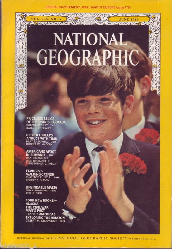 National Geographic June 1969-0