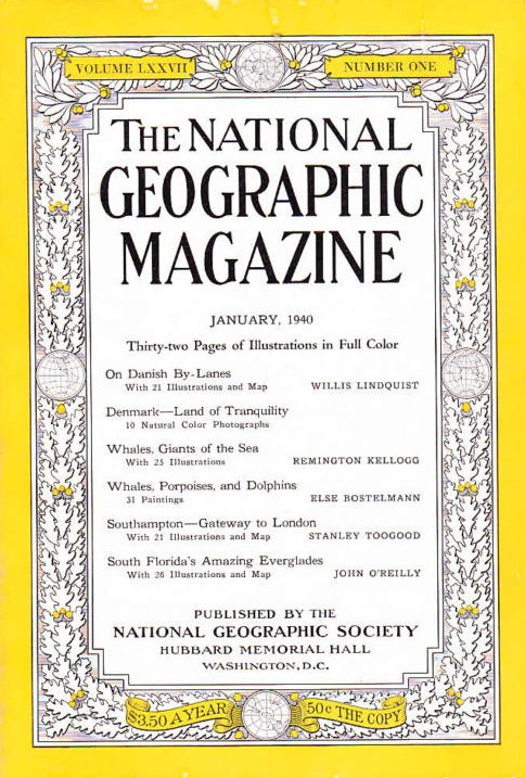 National Geographic January 1940-0