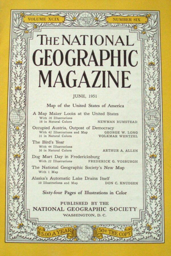 National Geographic June 1951-0