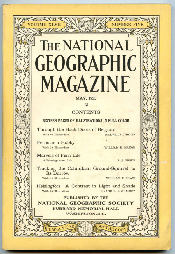 National Geographic May 1925-0