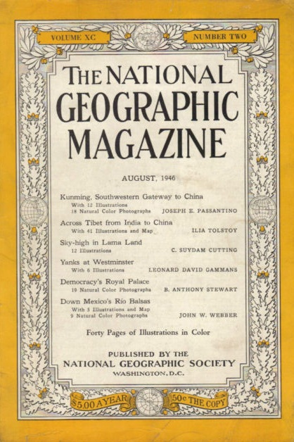 National Geographic August 1942-0