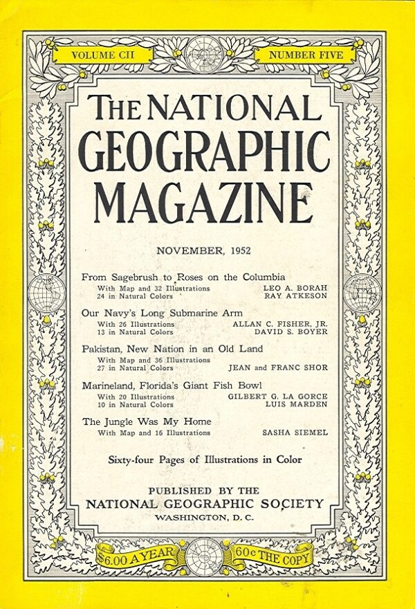 National Geographic November 1952-0
