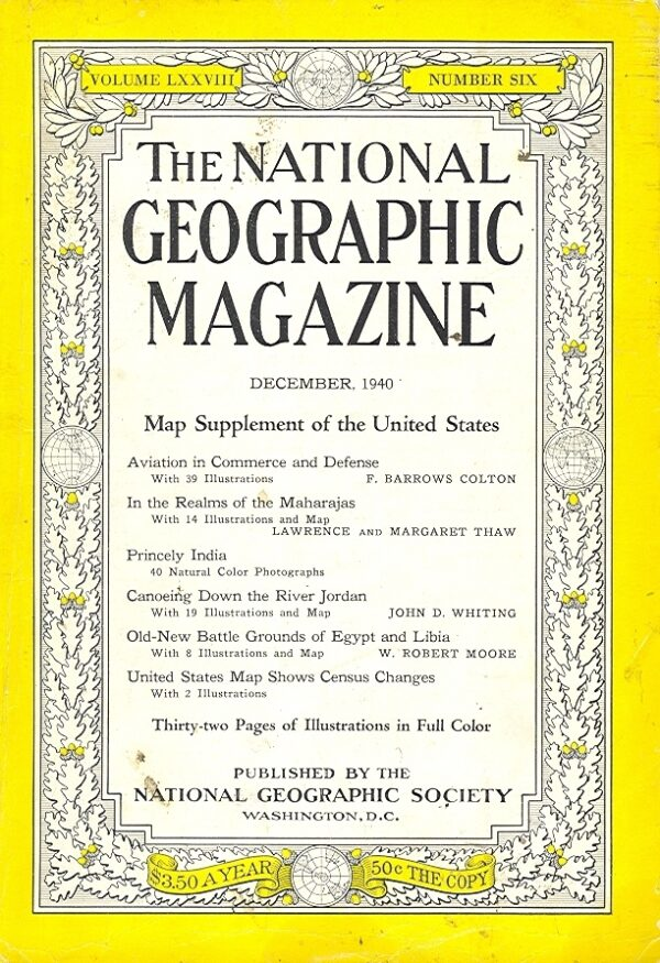 National Geographic December 1940-0