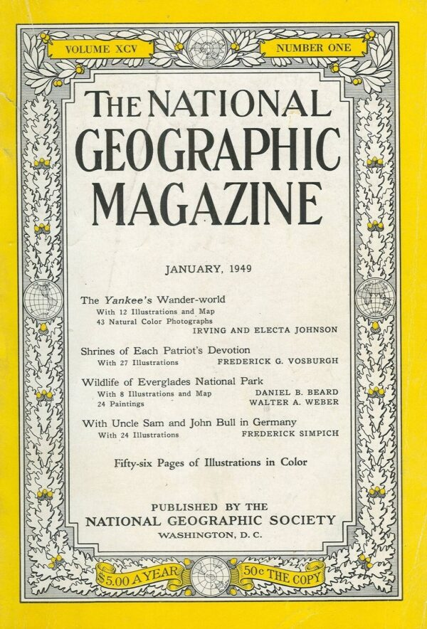 National Geographic January 1949-0