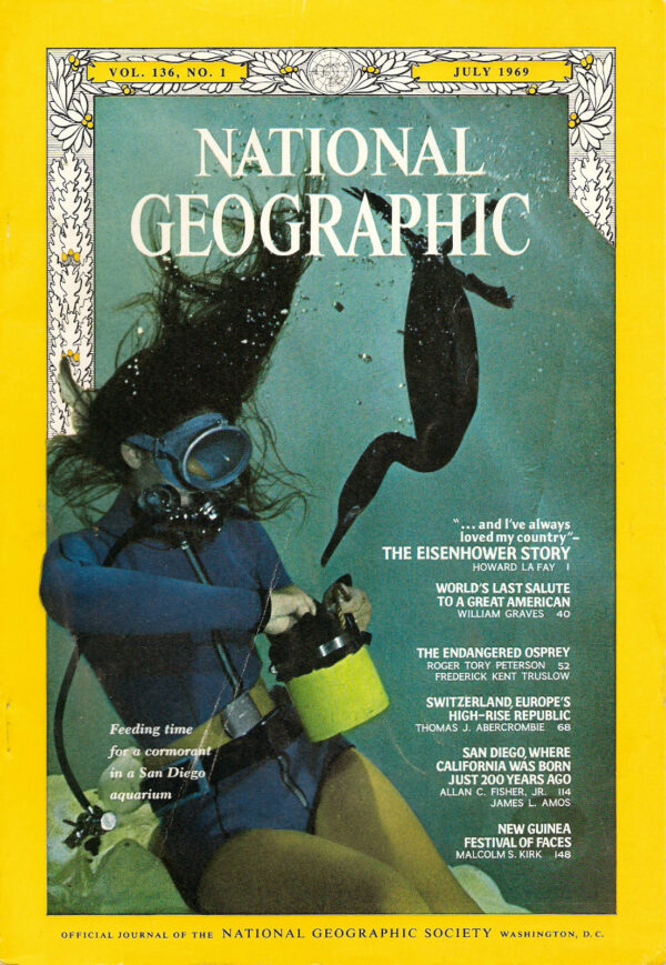 National Geographic July 1969-0