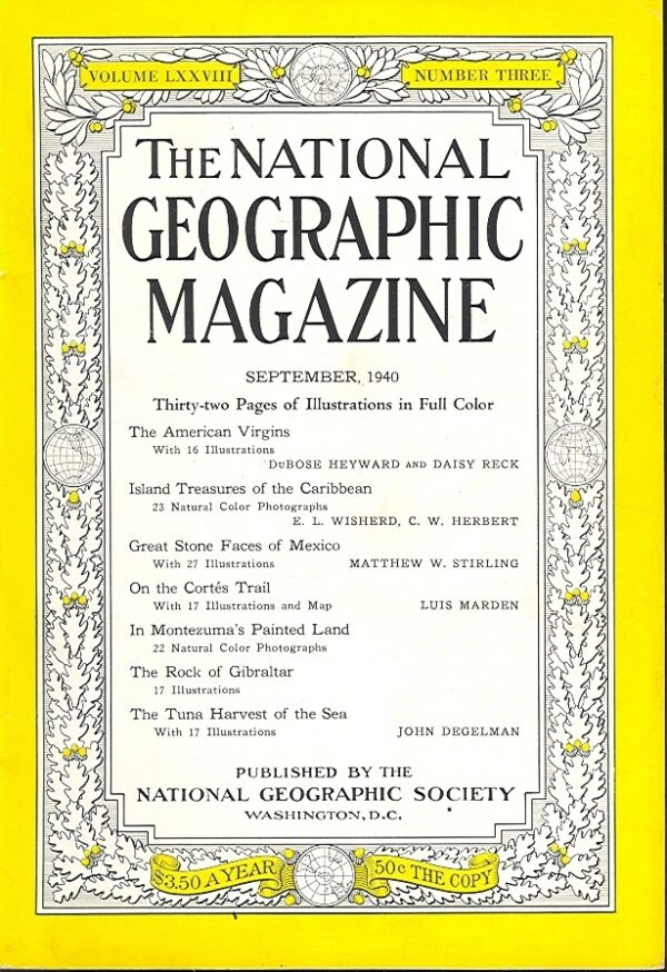 National Geographic September 1940-0