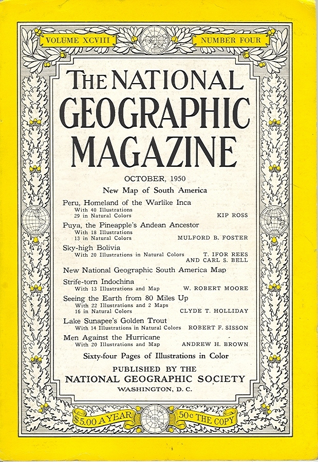 National Geographic October 1950-0