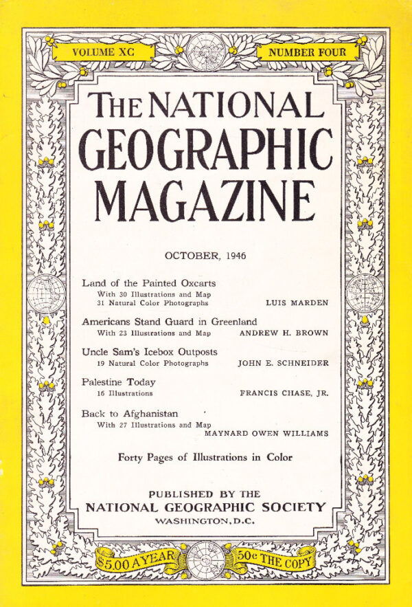 National Geographic October 1946-0