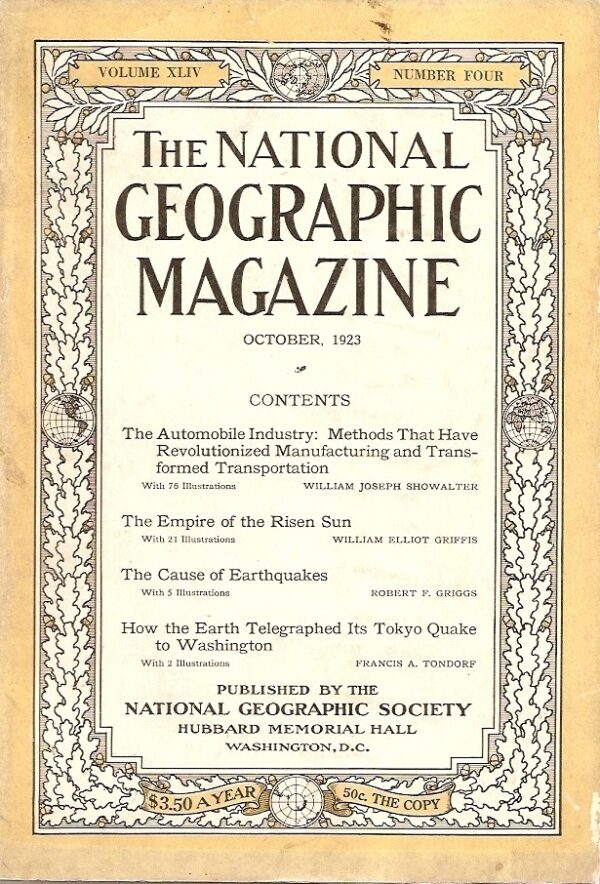 National Geographic October 1923-0