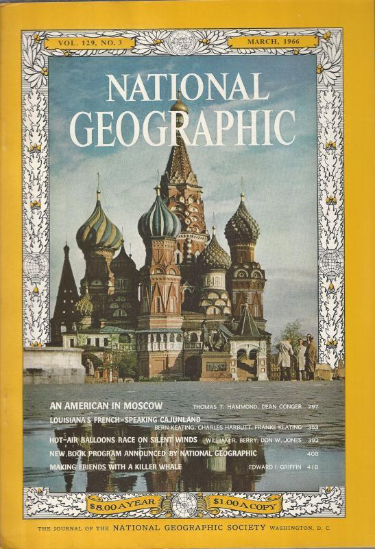 National Geographic March 1966-0