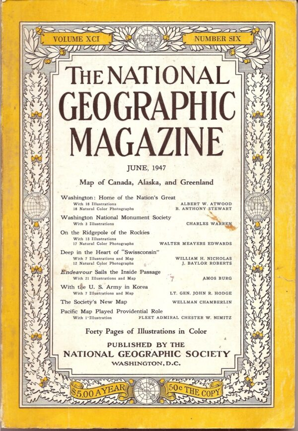 National Geographic June 1947-0