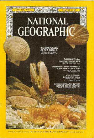 National Geographic March 1969-0