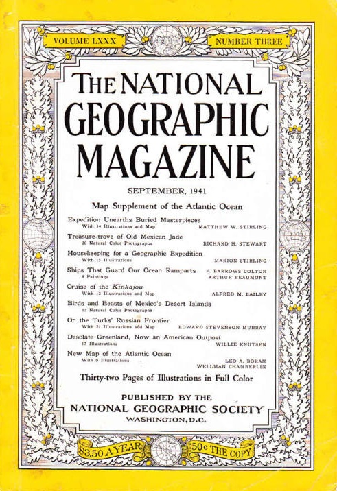 National Geographic September 1941-0