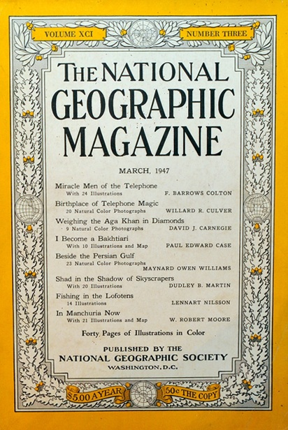 National Geographic March 1947-0