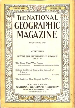 National Geographic December 1922-0