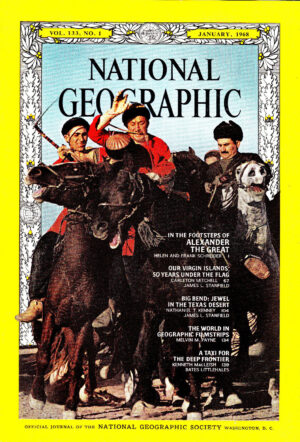 National Geographic January 1968-0