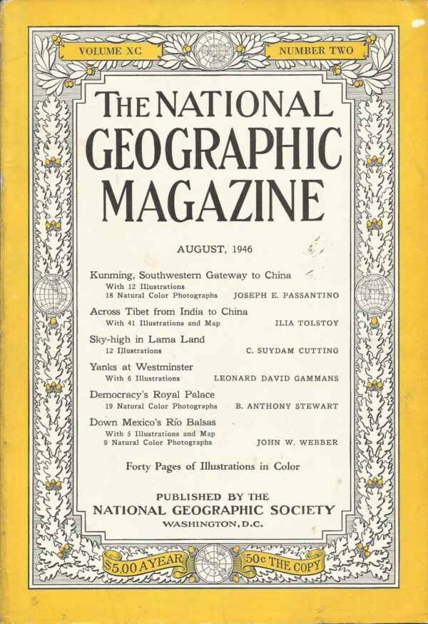 National Geographic August 1946-0