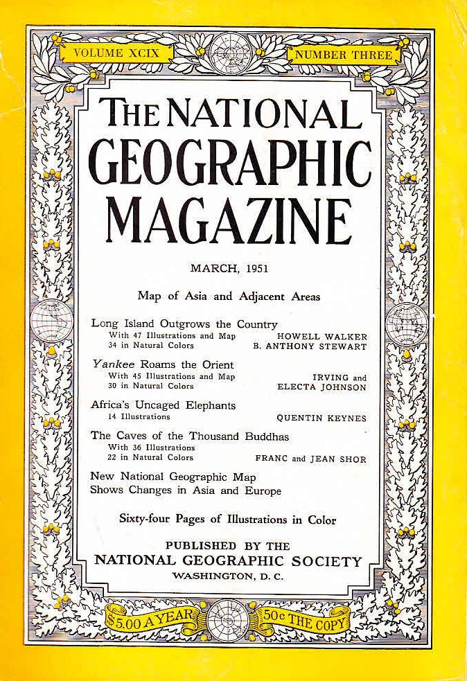 National Geographic March 1951-0