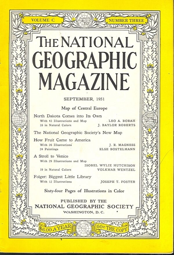 National Geographic September 1951-0