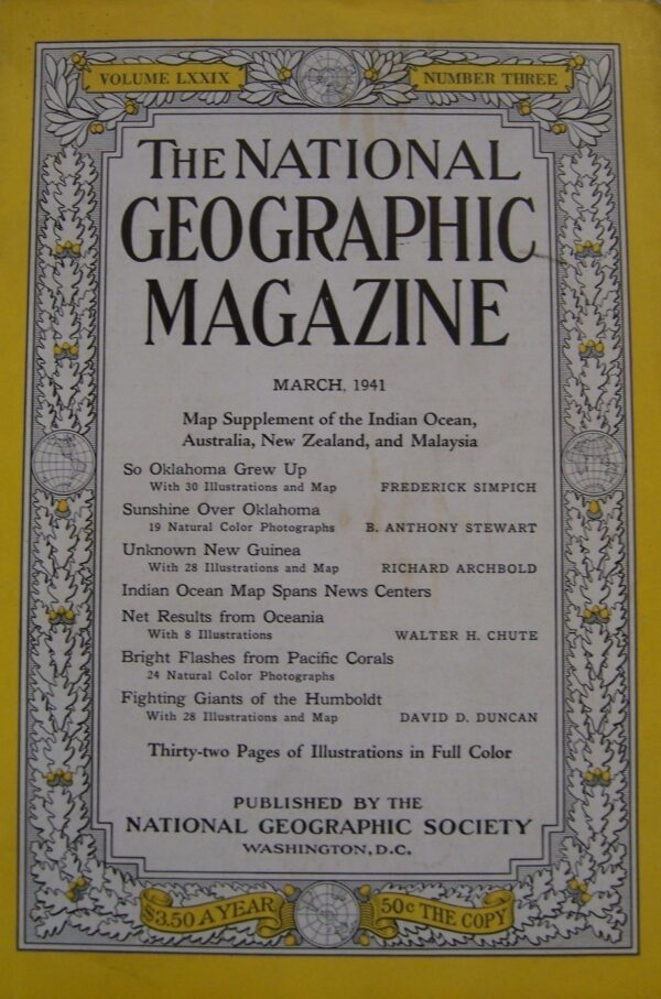 National Geographic March 1941-0